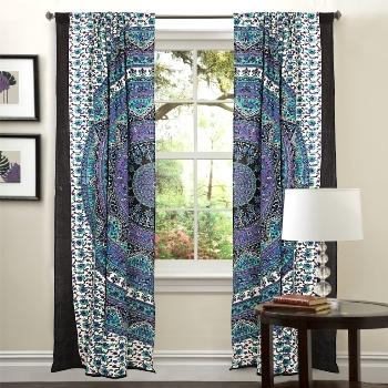 Indian Cotton Door Window Curtain Drape Panel Curtain