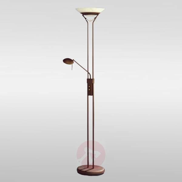 Attractive floor lamp Agio with rotary dimmer - Uplighters