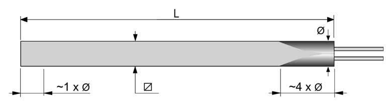 Square Cartridge Heater - null