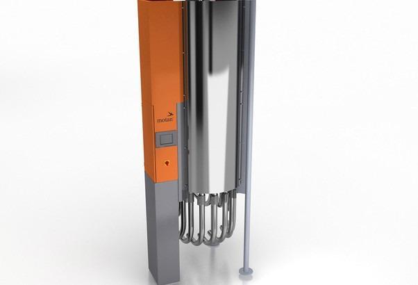 Sistema automatizado de distribución de material - METROLINK - Sistema de distribución de material totalmente automático con tuberías.
