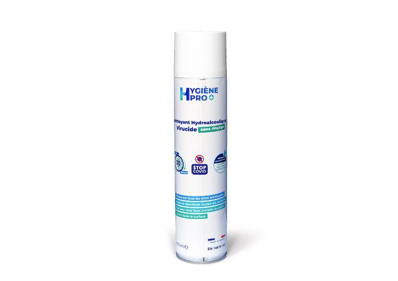 SPRAY VIRUCIDE ANTI-COVID-19, CONTENANCE 400 ML - Solution Hydro alcooliques