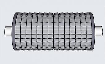 Spreader Rollers - Type BR (Basic Roller) - Type BR 80/110