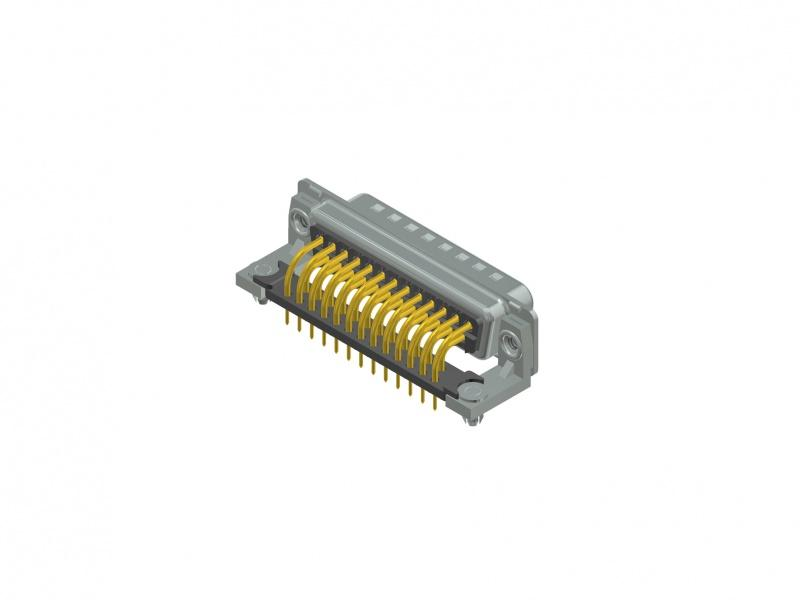 "D-SUB Standard Connector - D-SUB Standard Solder pin – Angled – .370"" 9.4 mm – Precision machined contacts"