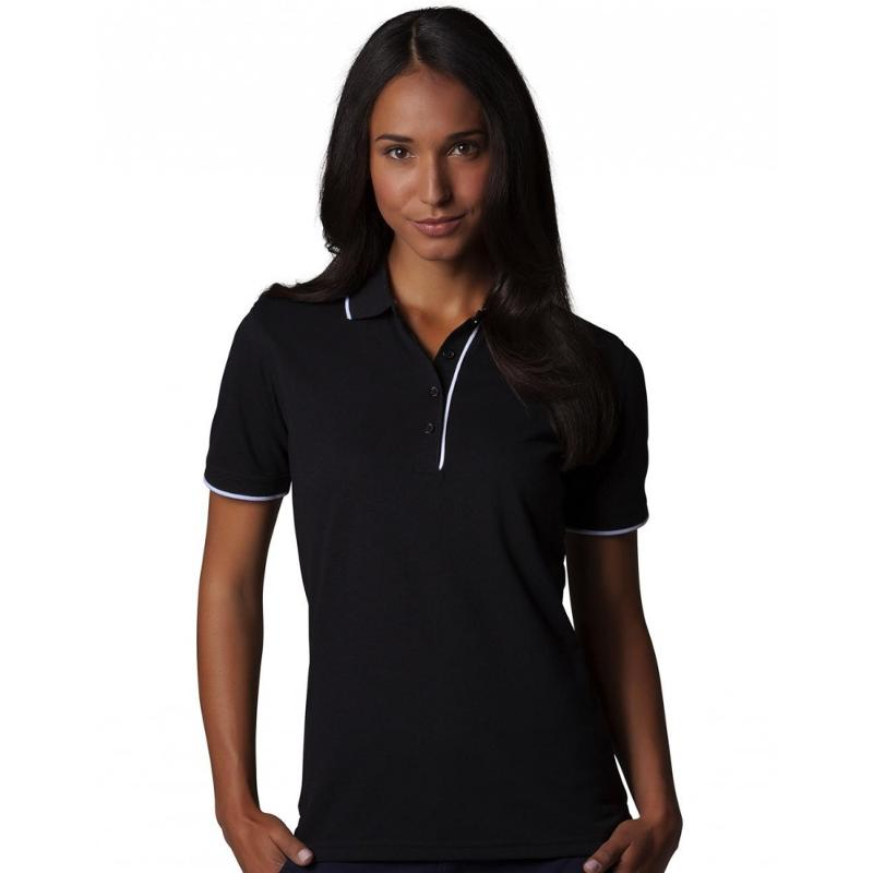 Chemise polo femme Essential - Manches courtes