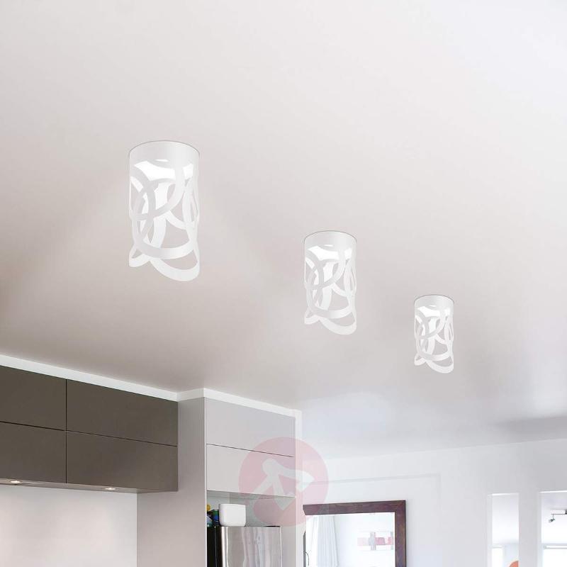 White Thor designer ceiling light - Ceiling Lights