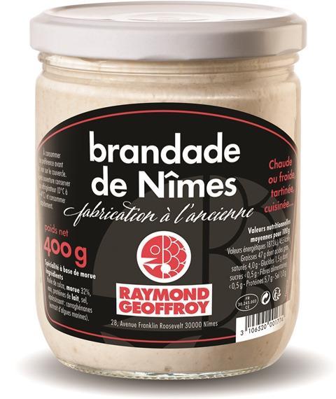 Brandade de Nîmes bocal 400g - Produits de la mer