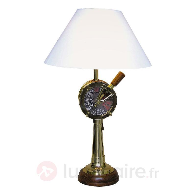 Epatante lampe à poser CRUISE bois - Lampes à poser en bois