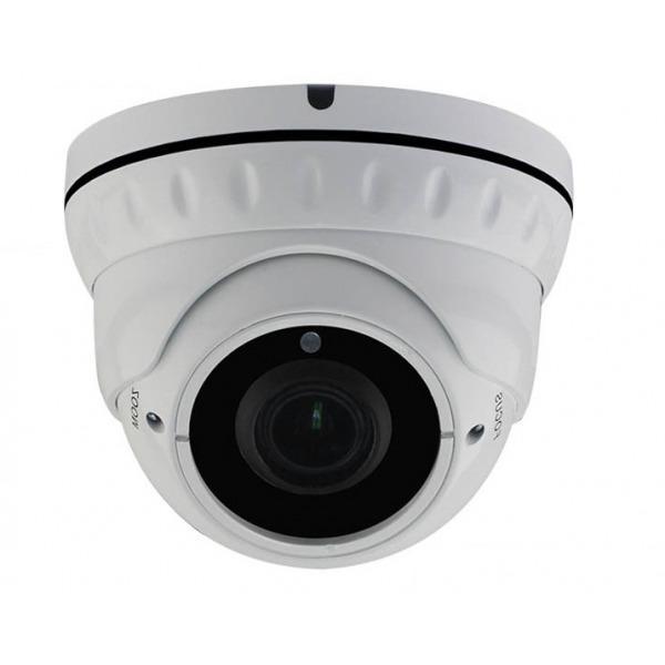 Caméra de surveillance IP zoom motorisée - Zoom 5X, infrarouge et POE