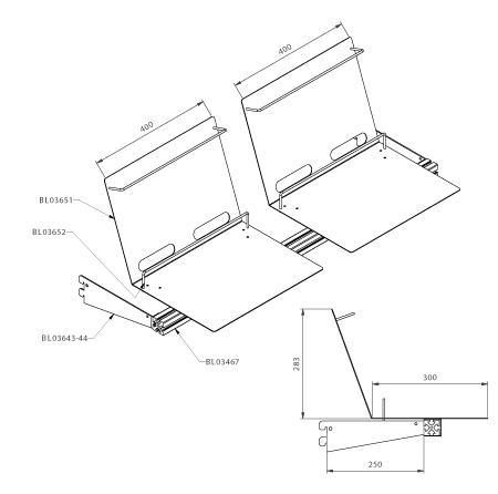 Modular shop rack systems & instore interior shelving design - Laptop presentation