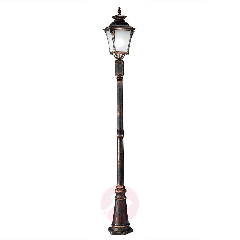 Vivana Post Light Elegant Nostalgic Flair - Pole Lights