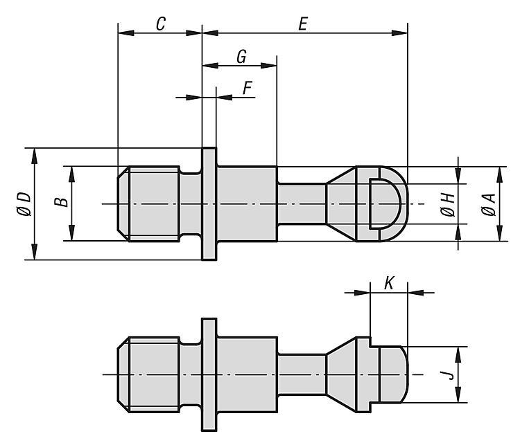 Clamping Screws (high Force) - Clamp straps Clamping devices