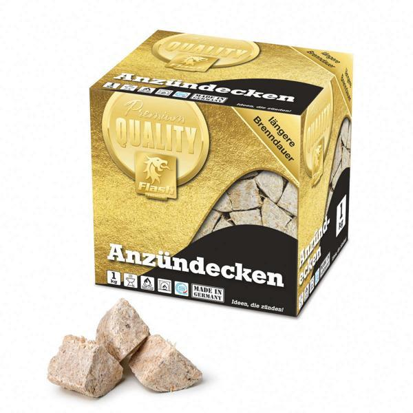 FLASH GOLD Anzündecken 1 kg -