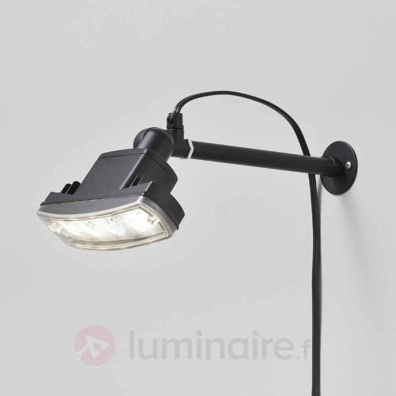 Spot extérieur NEW AMALFI LED à diffusion large - Projecteurs d'extérieur LED