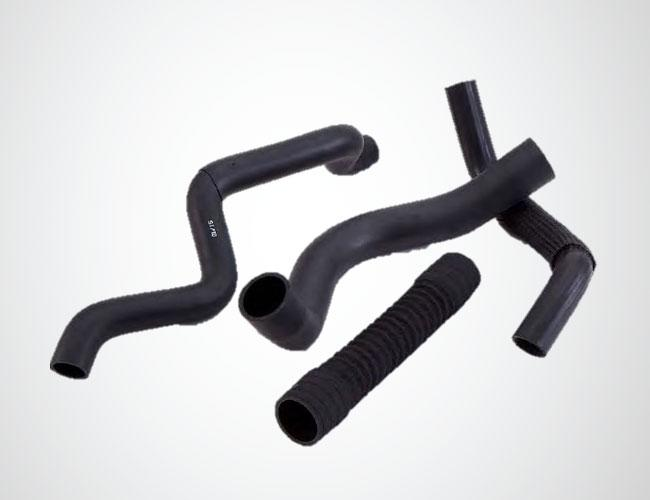 EPDM Radiator and air-cleaner hoses  - Custom made organic hoses