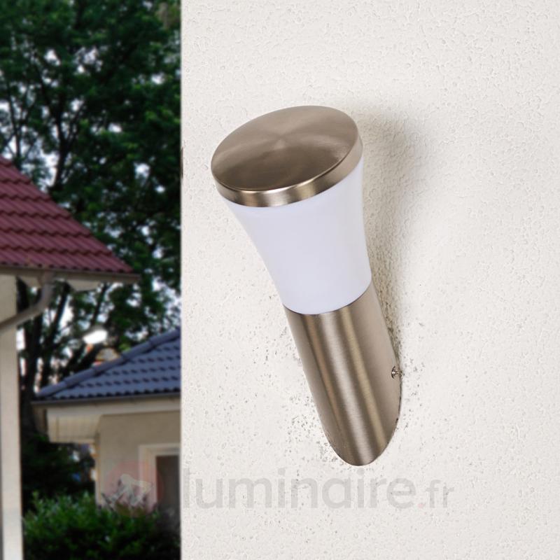 Sumea - applique extérieure LED en inox - Appliques d'extérieur LED