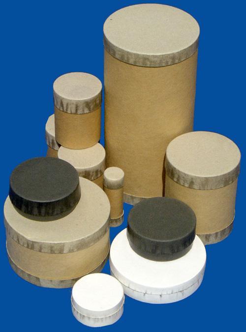 Boîte 3 pièces, fond, tube et couvercle - null