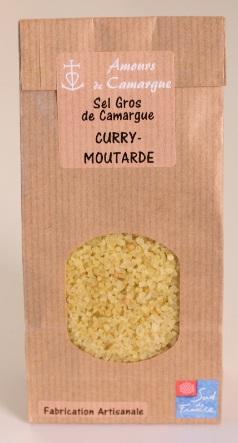 SACHET KRAFT - SEL GROS DE CAMARGUE - CURRY & MOUTARDE - Epicerie salée