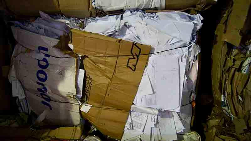 МС-7Б-1 (Белая бумага офисная, архив) - Сырье прессованное (кипы 350-400 кг)