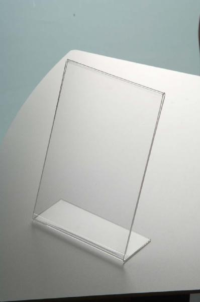 Leaflet Holders - Porte Brochure Plexi Type L