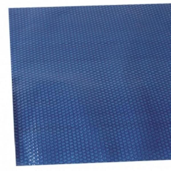 Couverture à bulles finition eco bleu pour piscine rectangulaire - ecobleu7x3.5