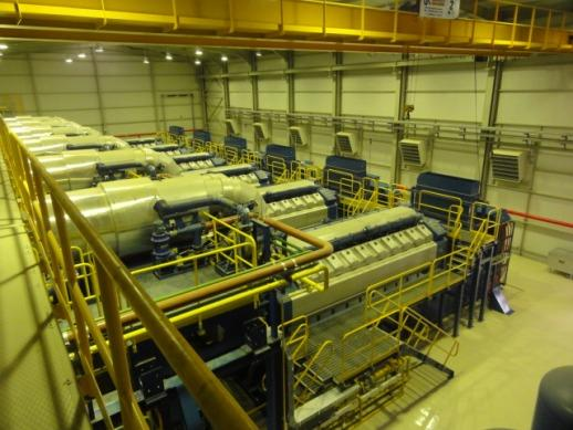 60 MW Wartsila 20V34SG Natural Gas Power Plant  - With Warranty