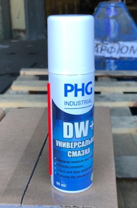 PHG DW+  - Универсальная смазка на силиконовой основе
