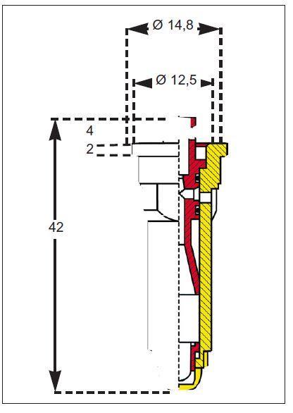 Buses à injection à jet excentrique IS80° - Buse anti dérive