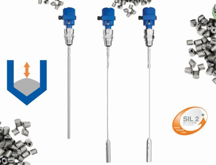 Transmissor de nível de ondas guiadas NivoGuide® NG3000 - Sensor de ondas guiadas para medição de nível em sólidos