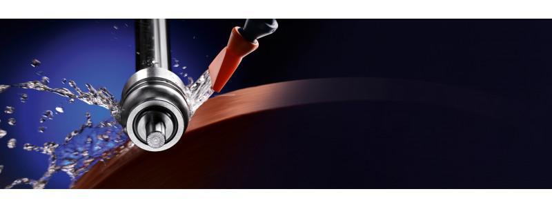 Ölfreier Kühlschmierstoff FRIGOMET DP 455 V - Ölfreier Hochleistungskühlschmierstoff