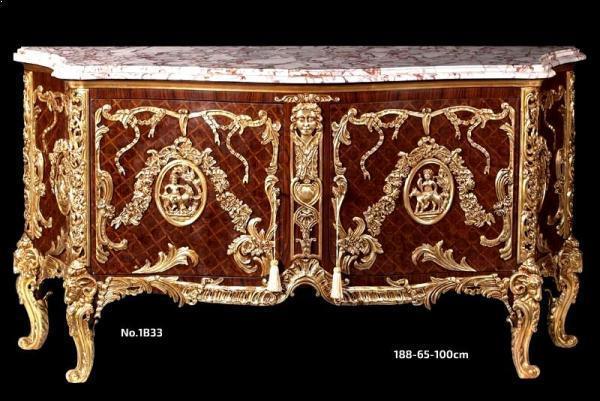 Louis XV Antoine Gaudreaux Fountainebleau Commode Medaillier -