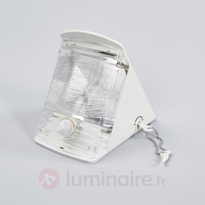 Applique LED solaire SOL 04 IP44 blanc - Appliques d'extérieur avec détecteur