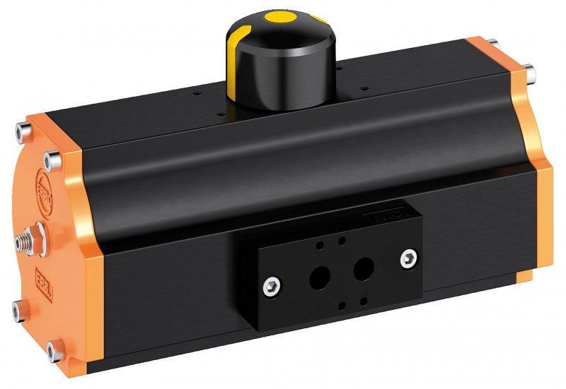 Actuadore neumático EB-SYD - Serie EB-SYD fabricada según el principio del yugo escocés