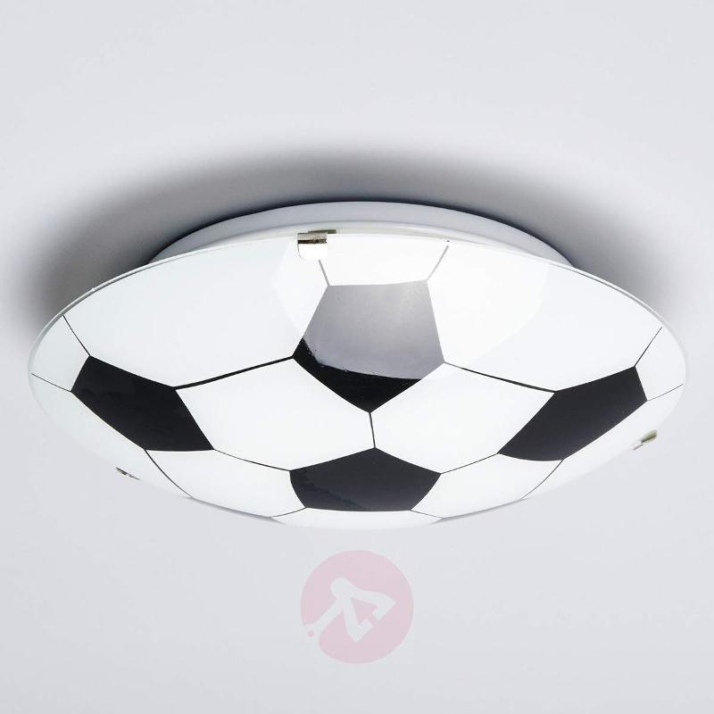 Football Black/White Ceiling Lamp - Ceiling Lights