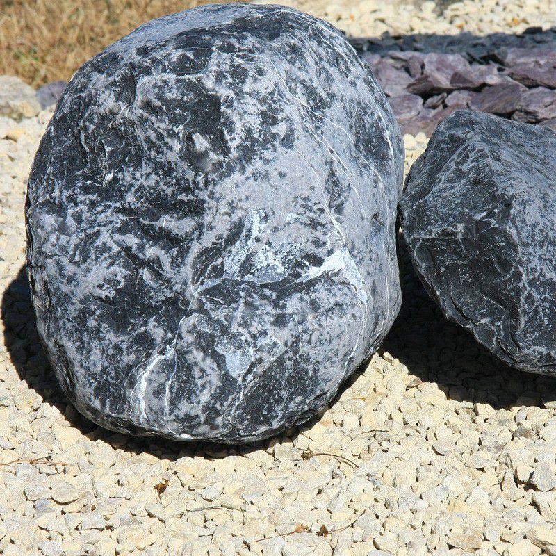 sac de galet decoratif galet marbre noir ebene granulart. Black Bedroom Furniture Sets. Home Design Ideas