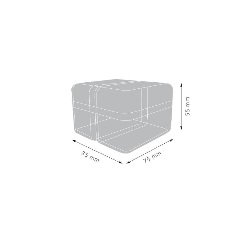 SCATOLETTA IN PLASTICA 70 x 70 - Contenitori Speciali Appendini