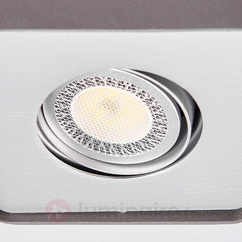 Downlight LED GU10 Giliano en aluminium - Plafonniers LED