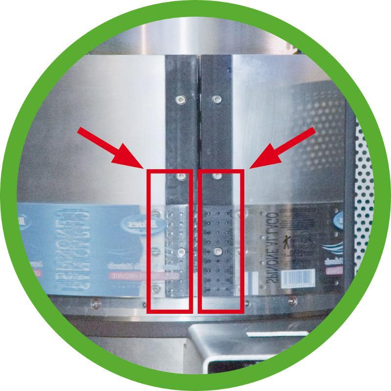 Adhesleeve - Etichettatrice da bobina per etichette avvolgenti pre-adesivizzate