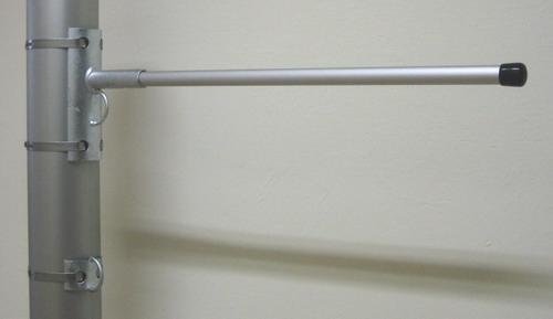 FSA-O, Aluminium-Fahnenstange mit Ösenbefestigung - null