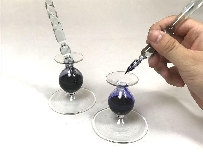 Glass dip pen -
