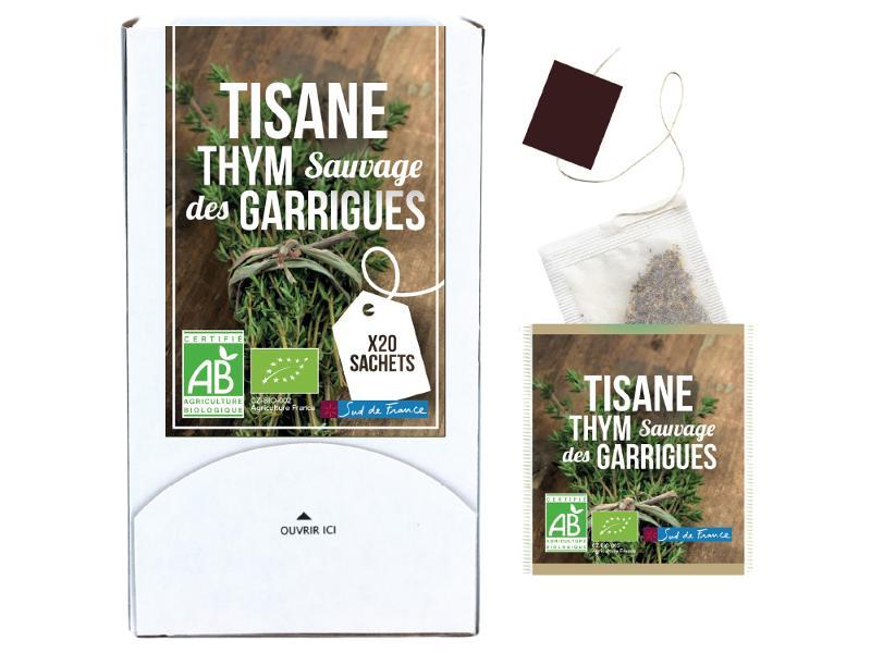 Tisane Thym sauvage des garrigues - Boissons