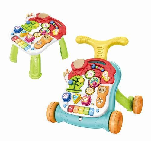 Hotselling baby walker Musical Lion Walker Sit & Play  - Baby walker toys