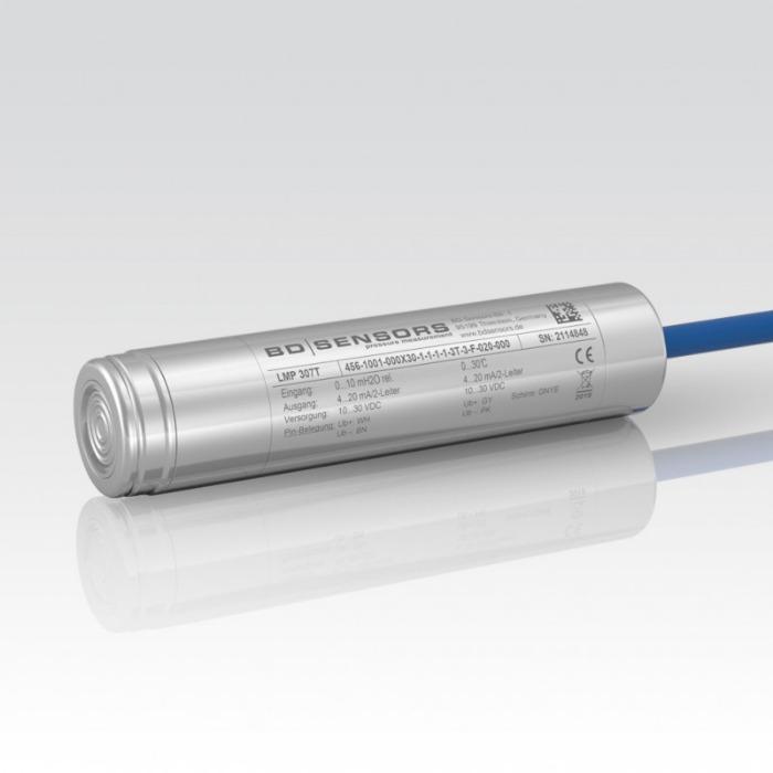 Hydrostatic Level Probe LMP 307T - hydrostatic level sensor / for water / for liquids / with temperature sensor