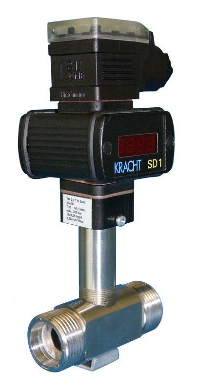 Caudalímetro de turbinas TM - Caudalímetro para medios agresivos