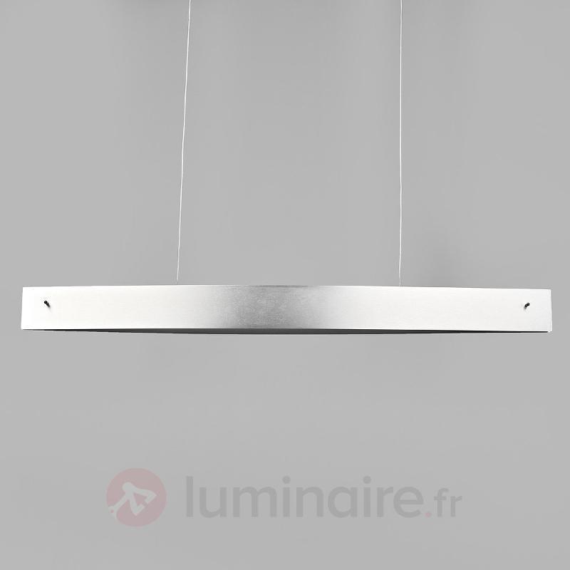 Suspension moderne LED Malu, aluminium mat - Suspensions LED