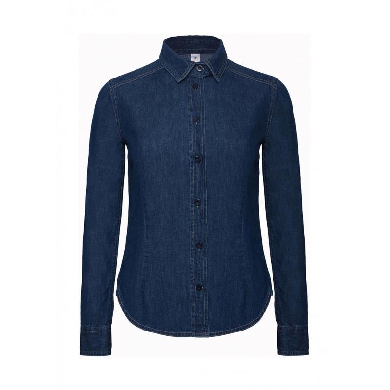 Chemise femme Denim Shirt S-L - Femme
