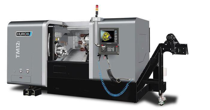 Drehmaschine - TM 12i - Die ideale Maschine für die Dreh-Bearbeitung mittelgroßer Teile