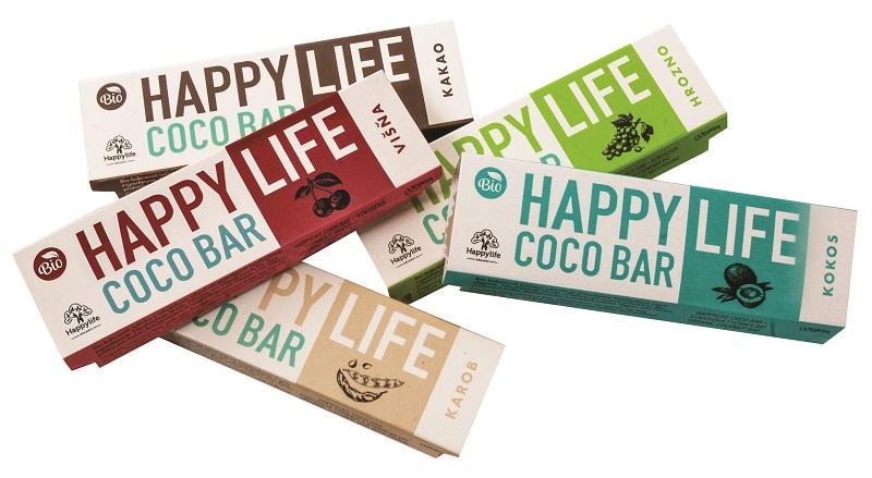 HAPPYLIFE COCO BAR – ORGANIC COCONUT BARS - Delicious organic coconut bars.