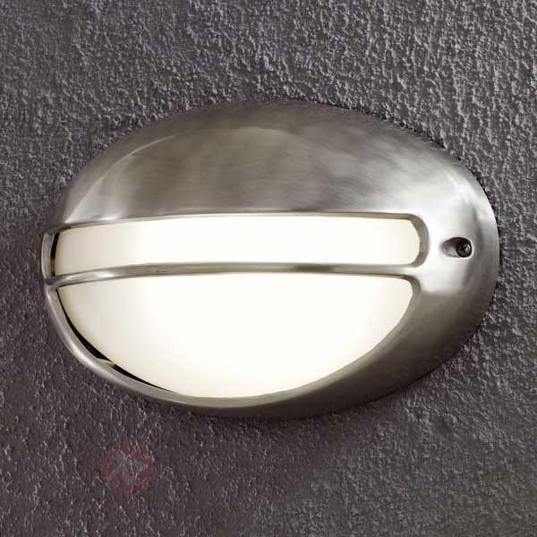 Superbe applique d'extérieur Torino ovale - Appliques d'extérieur inox