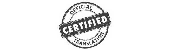 Certified and sworn translations
