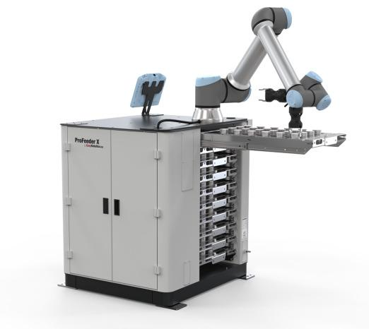 ProFeeder X - Robot application for large quantities